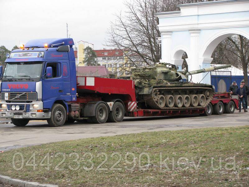 Послуги з перевезень військових вантажів