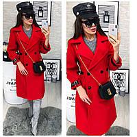 Женское пальто (42-44,44-46) — кашемир-подкладка-атлас купить оптом и в Розницу в одессе  7км