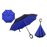 Зворотний Парасолька UmBrella, Синій, фото 1