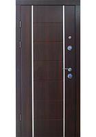 Двери входные Булат-двери Рисунок 502 алюминиевый молдинг, фото 1