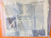 Пакет полиэтиленовый майка Газета 30*50 ТМО
