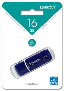 3.0 Smartbuy 16GB Crown Blue (SB16GBCRW-Bl)