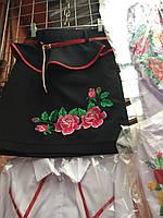 """Вышитая юбка для девочки """"Роза"""""""