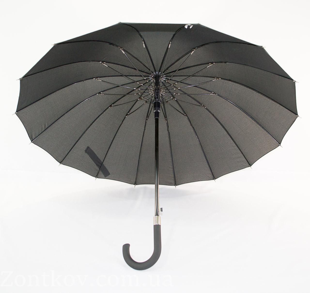 """Зонтик-трость на 16 спиц от фирмы """"MaX"""""""