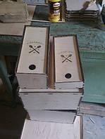Сувенирная подарочная коробка ручной работы из дерева