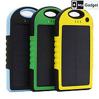 Портативная зарядка на солнечной батареи Solar 10000mAh