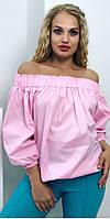 Модная блуза с открытой спиной