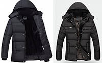 "Акция! Супер теплая Зимняя Куртка на меху Black Classic  ""GYFS""  Вьетнам модель №2"