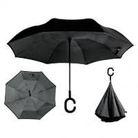 Зонт - наоборот, Черный, фото 1