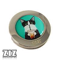 """Держатель для сумки """"Кот со стаканом"""" Z_28030"""