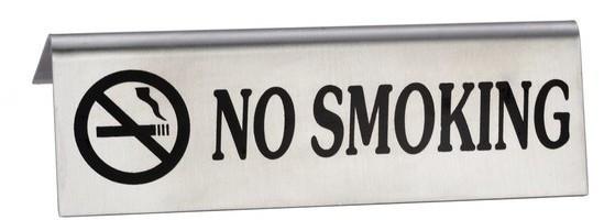 """Табличка NO SMOKING Не Курить чёрный текст Empire 9170 - Интернет - магазин """"Interjoys"""" в Днепре"""