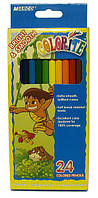 Цветные карандаши 24 цвета Colorite, Marco