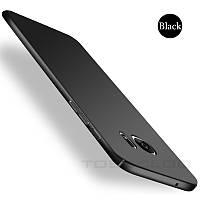 Чохол Samsung Galaxy S7 Edge чорний пластик матовий, фото 1