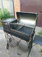 """Мангал-печь с крышкой """"Оптима-Зингер"""", фото 1"""
