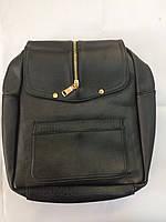 Рюкзак черный эко кожа