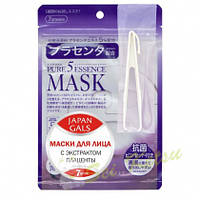 Japan Gals Маска с плацентой Pure 5 Essential