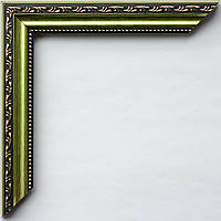 Рамка А2 42х60  ширина багета 2,4 см зеленый