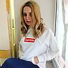 Supreme Худи | Живые фотки Бирки | Женская толстовка