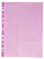 Файл А4, плотность 40мкм, фиолетовый цвет, полупрозрачный, Optima