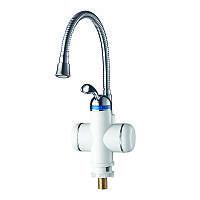 Проточный водонагреватель с рефлекторным изливом для кухонной мойки или раковины Zerix