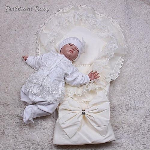 Зимний набор для новорожденных Волшебство+Мальвина (айвори)