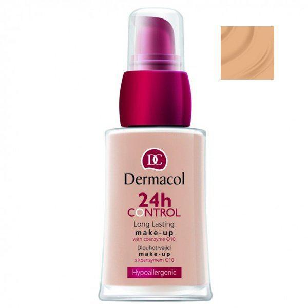 Тональный крем для лица Dermacol 24H Control высокой степени стойкости с Q10