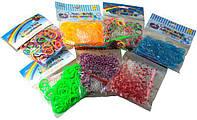 """Резиночки для плетения """"Rainbow Loom"""" 200шт  в пакете"""