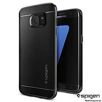 Чехол Spigen для Samsung S7 Edge Neo Hybrid, Gunmetal, фото 1