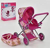 Коляска для кукол Lovely Baby FL 8184-1 с люлькой-переноской