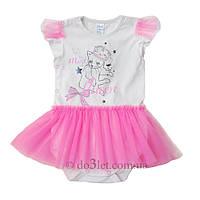 Нарядная боди юбка для девочки Minikin 1516302 р.68 молочный