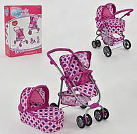 Коляска для кукол Lovely Baby FL 8190 трансформер