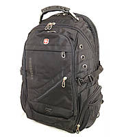 Рюкзак Swissgear с отделением для ноутбука большой GS1020 черный, фото 1