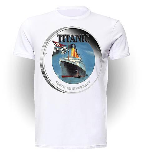 Футболка GeekLand Титаник Titanic Star Line TT.01.014