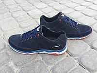 Мужские замшевые кроссовки Adidas Porsche синие 40, 41, 42, 43, 44, 45