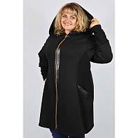 Женское пальто большого размера Вельбо