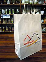Подарочный бумажный пакет с логотипом Gardman