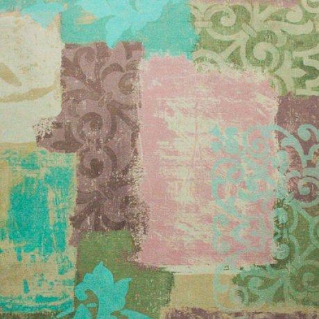 Ткань велюр Фиона Vintage Lilac, фото 2