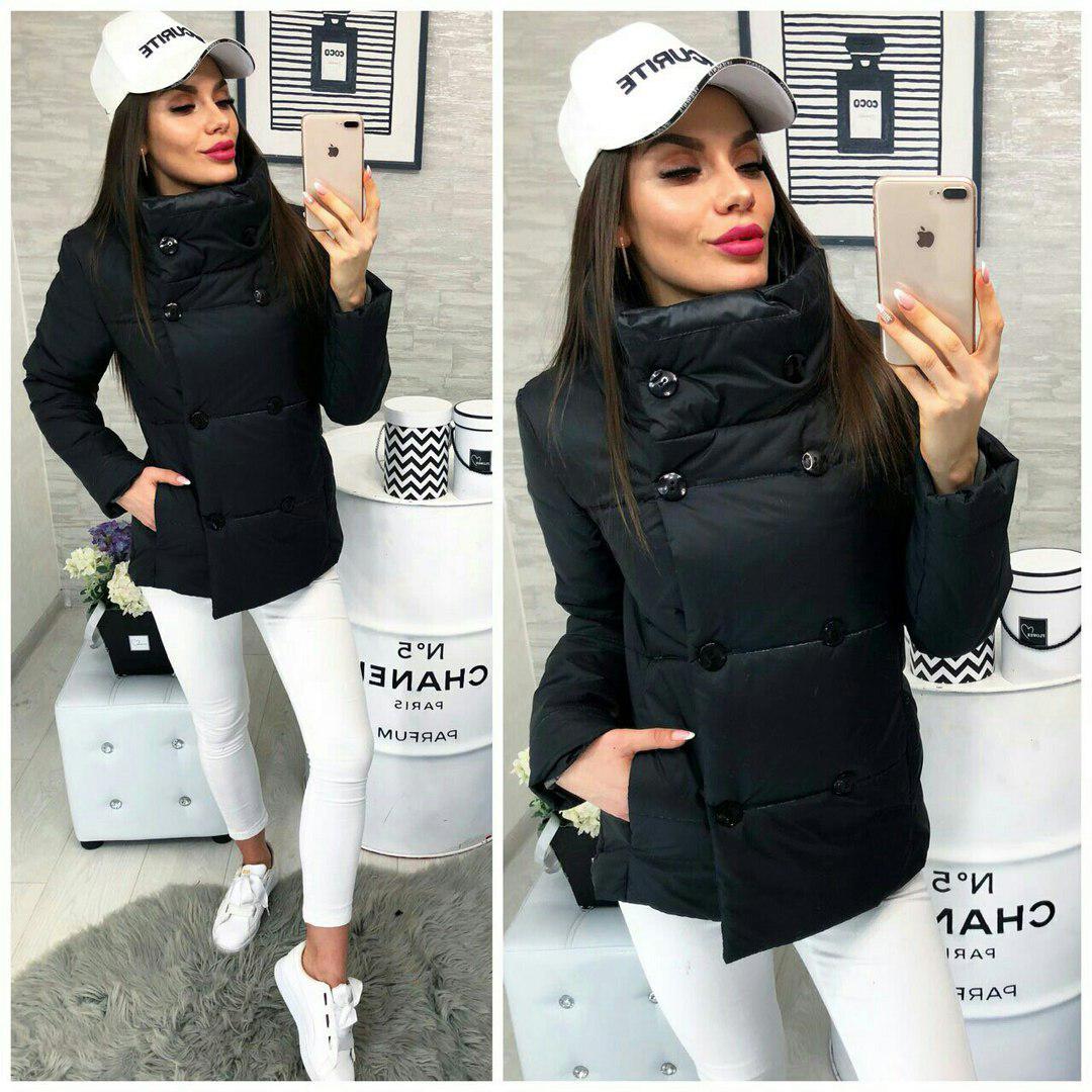 Куртка, модель 1001/2, цвет - черный
