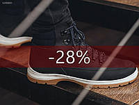 Зимнее ботинки Staff - Mark boots Art. GH0001 (чёрный | тёмно-синий)