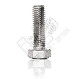 Болт нержавеющий М10 DIN 931 DIN 933 | болты нержавейка М10