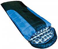 Спальный мешок Tramp Balaton индиго/черный R (TRS-044-R)