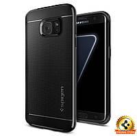 Чехол Spigen для Samsung S7 Edge Neo Hybrid, Black Pearl, фото 1