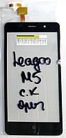 Сенсор (тачскрін) Bravis A504 Trace/ Leagoo M5 original чорний