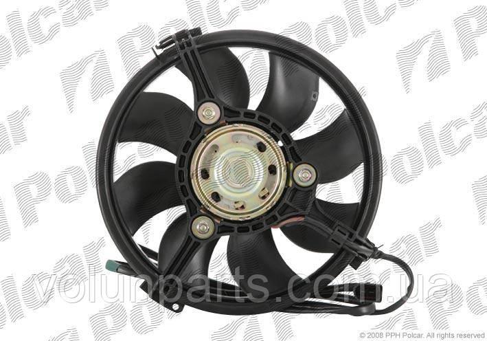 Електровентилятор охлаждения Audi A6C5/A8/ALLROAD/Skoda superb/Passat b5 2000-2005 (Polcar 132423w5)