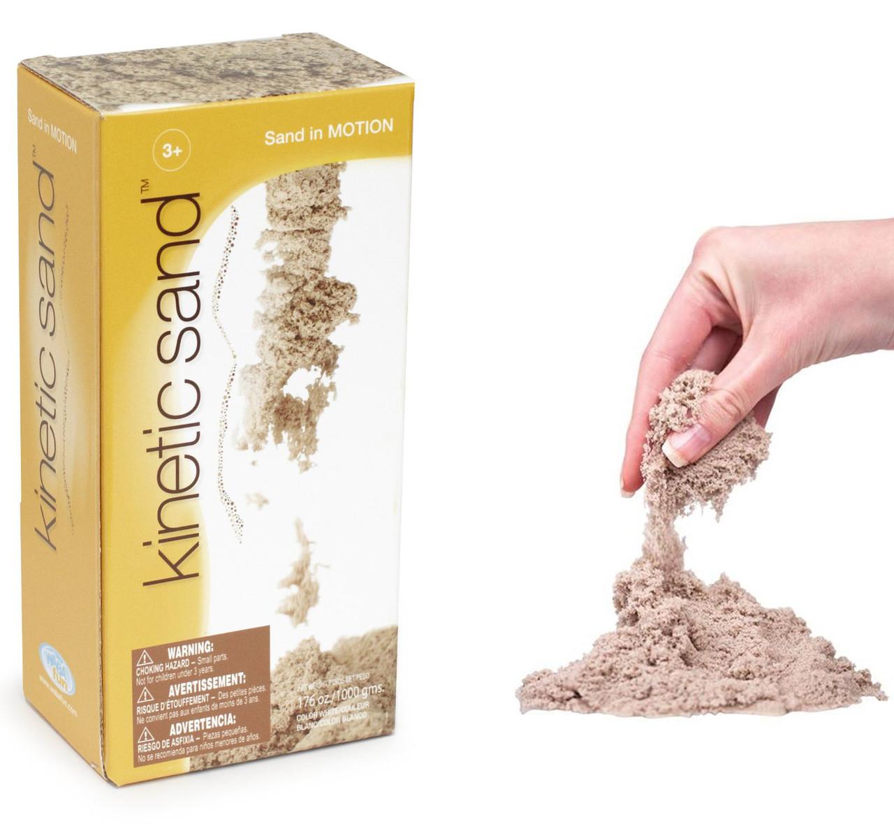 Цветной Кинетический песок Waba Fun 1кг Швеция (как песок)