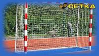 """Сетка для мини-футбола (футзал), гандбольная """"ЭЛИТ -1,1 М"""" Ячейка 10 см. (Ø шнура - 4,5 мм)"""