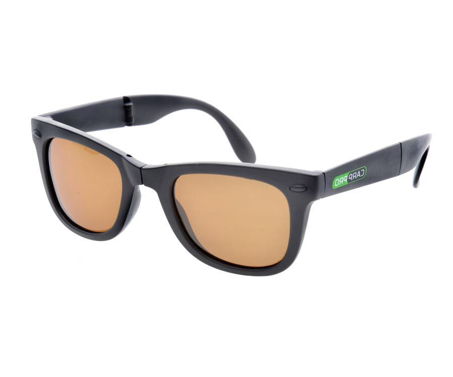 Поляризационные очки Carp Pro складные коричневые + чехол + салфетка