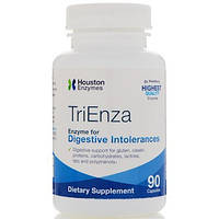 TriEnza (Триенза) 90 капс ферменты (энзимы) при пищевой непереносимости Houston Enzymes USA