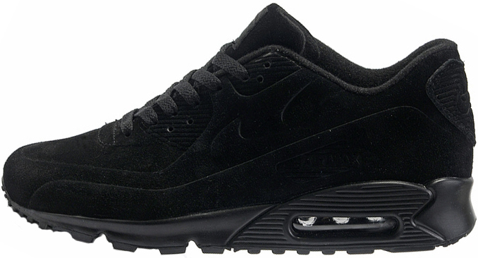 9ababa82 Nike Air Max 90 VT Tweed Black   кроссовки мужские; черные - BOOT CLUB в