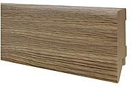 Плинтус МДФ дуб натуральный 80х19 мм, шт, фото 1